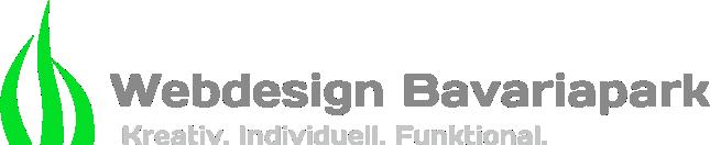 Webdesign Bavariapark Logo mit Text