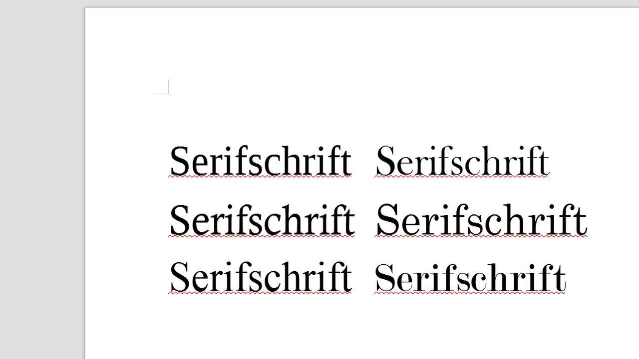Serifschrift